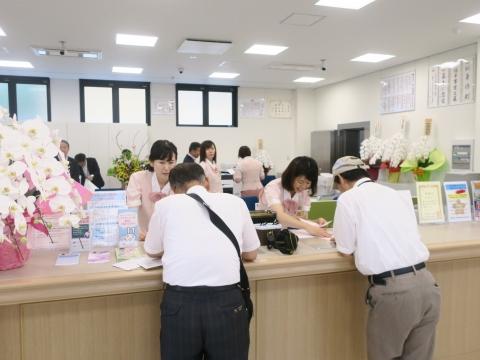 「茨城県信用組合 柿岡支店」開所式④