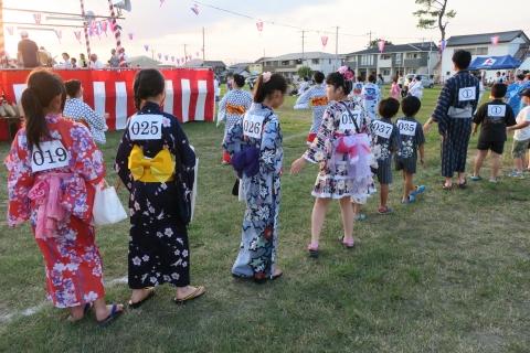 平成30年8月4日「平成30年度いしおか盆踊り大会」ポスター③