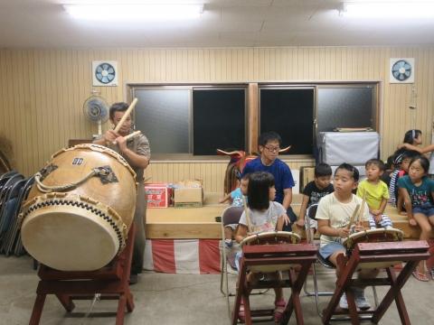 「国分町獅子舞太鼓の練習」④