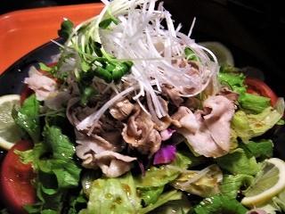 黒豚サラダ1 (6)