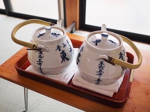 500茶礼のお茶