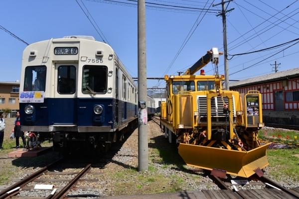 2018年4月21日 上田電鉄別所線 下之郷 7200系7255編成/DMC2010