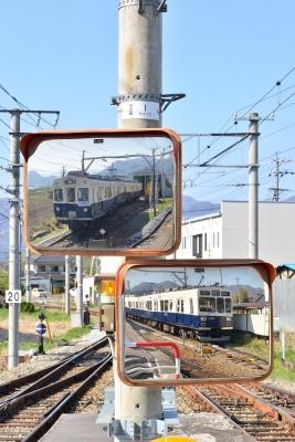 2018年4月21日 上田電鉄別所線 下之郷 7200系7255編成/1000系1004編成