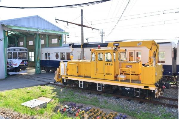 2018年4月21日 上田電鉄別所線 下之郷 DMC2010