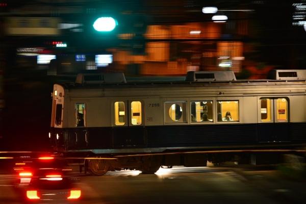 2018年4月27日 上田電鉄別所線 赤坂上~三好町 7200系7255編成