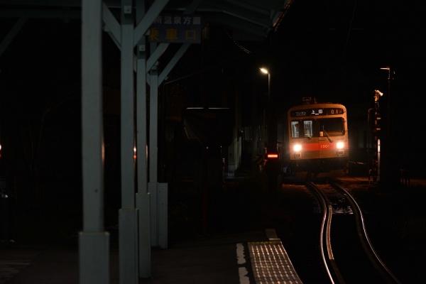 2018年4月27日 上田電鉄別所線 中塩田 1000系1001編成