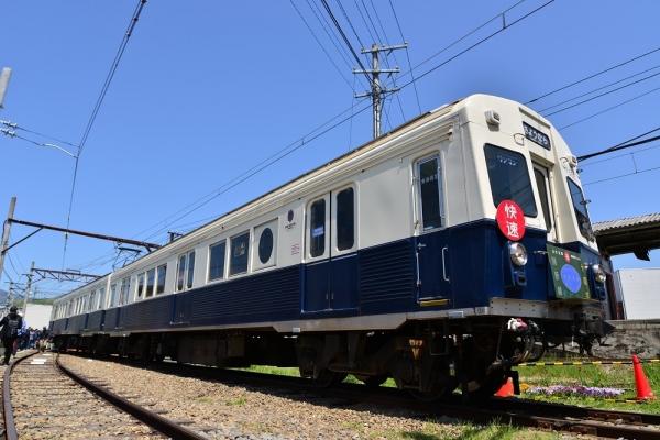 2018年4月28日 上田電鉄別所線 下之郷 7200系7255編成