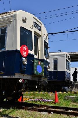 2018年4月28日 上田電鉄別所線 下之郷 7200系7255編成/1000系1004編成
