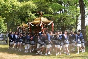 大宮さんの祭り201801