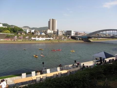 狩野川と御成橋