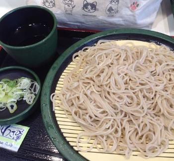 ゆで太郎 もり320円