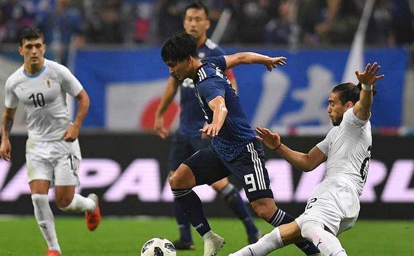 サッカー日本代表 ウルグアイ