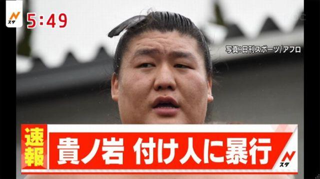 貴ノ岩 引退