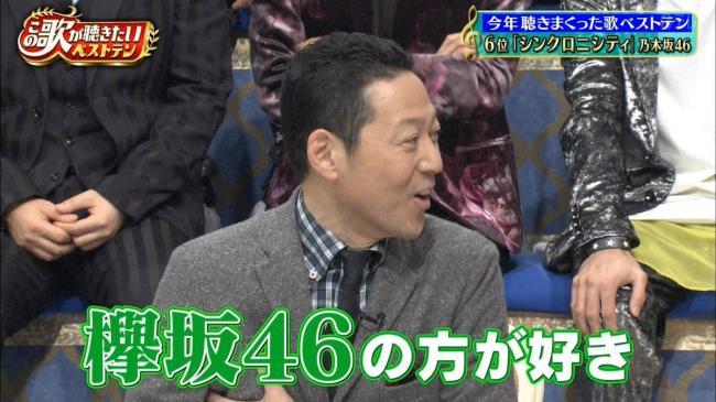 東野幸治 欅坂46 平手友梨奈