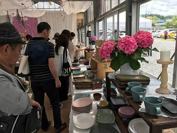 益子陶器市10