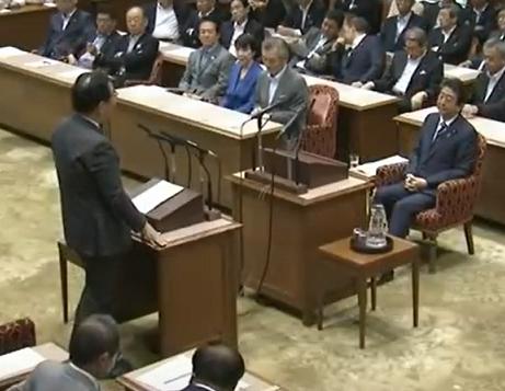 党首討論 志位×安倍 20180627