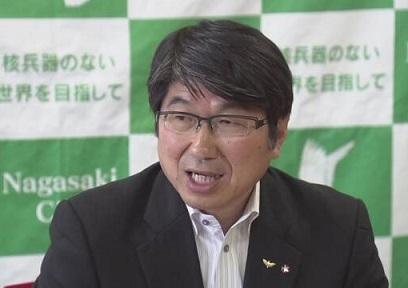 田上長崎市長 NHK20180730