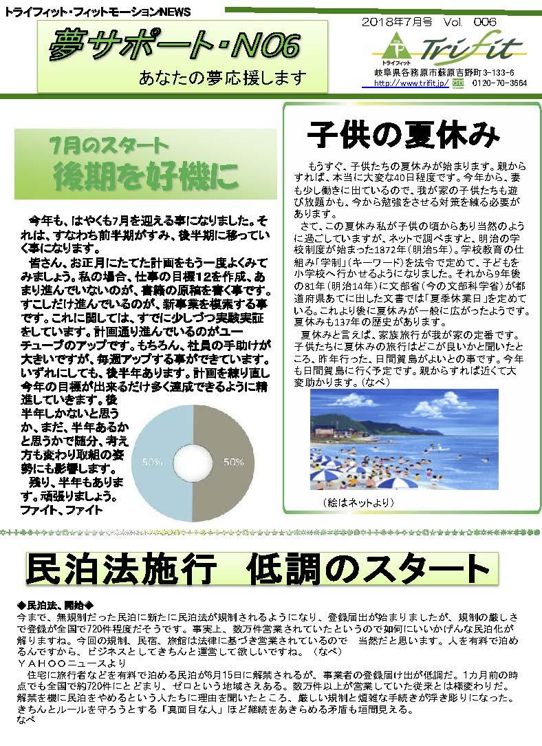 夢サポートVol001307月号 ページ1
