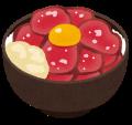 ブログ素材(ローストビーフ丼)