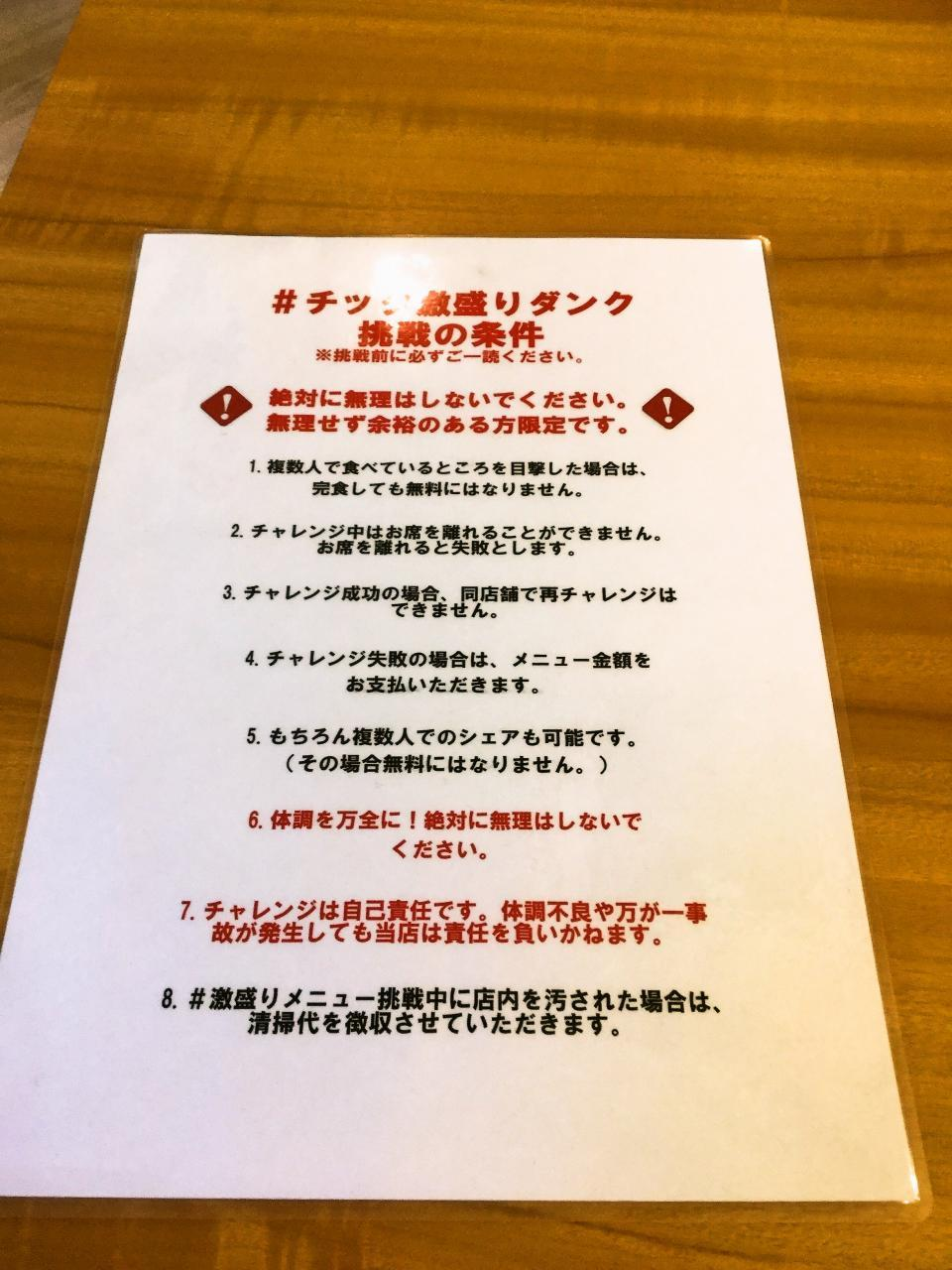 TABLE895 ラ チッタデッラ店(チャレンジメニュー)