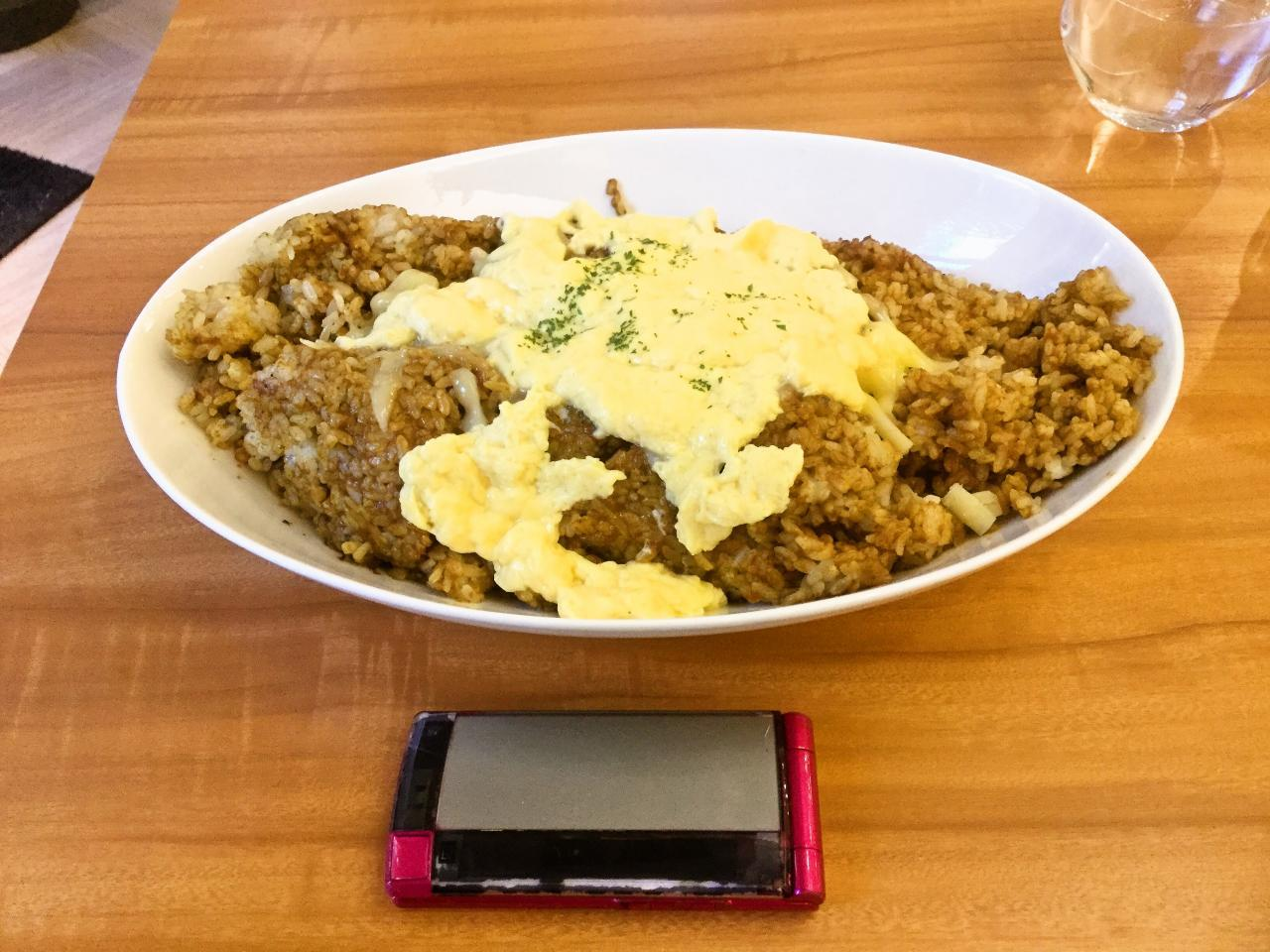 TABLE895 ラ チッタデッラ店(焼チーズオムカレー)