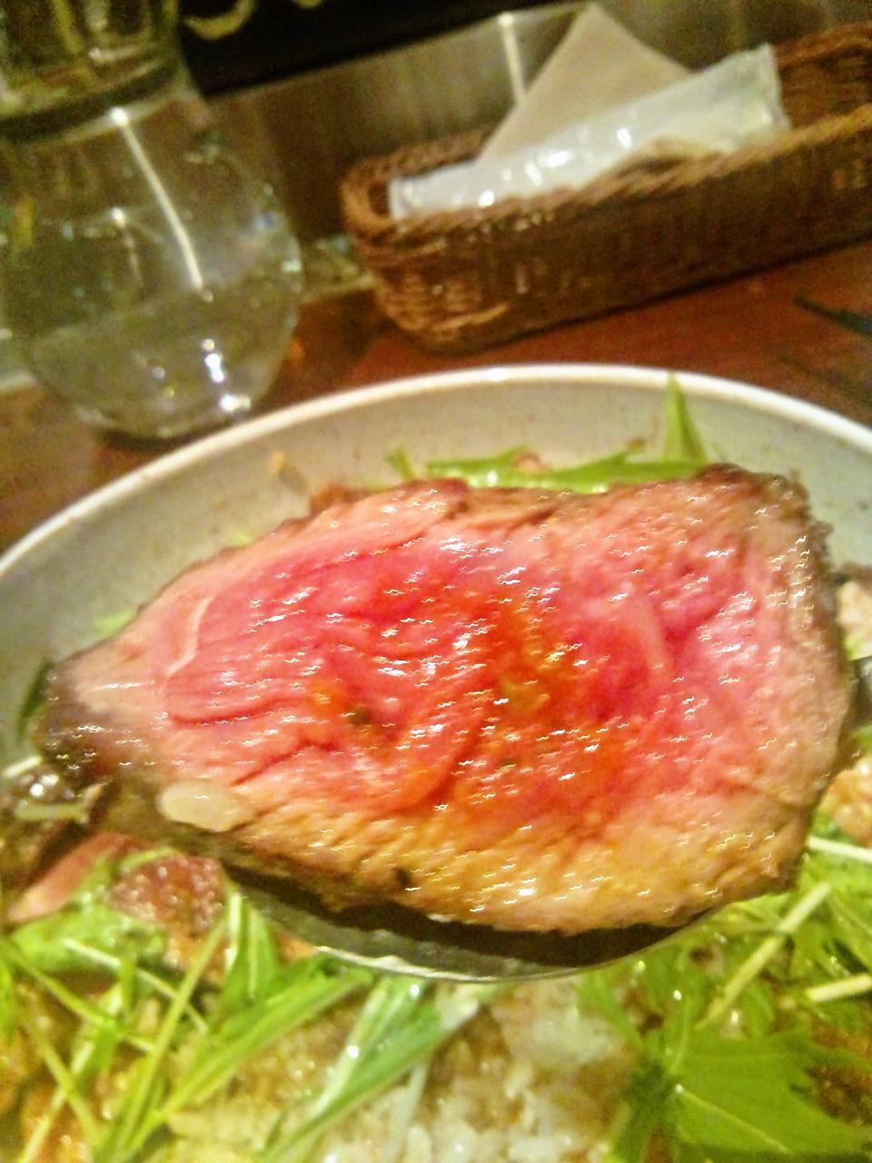 肉と牡蠣市場(サーロイン)
