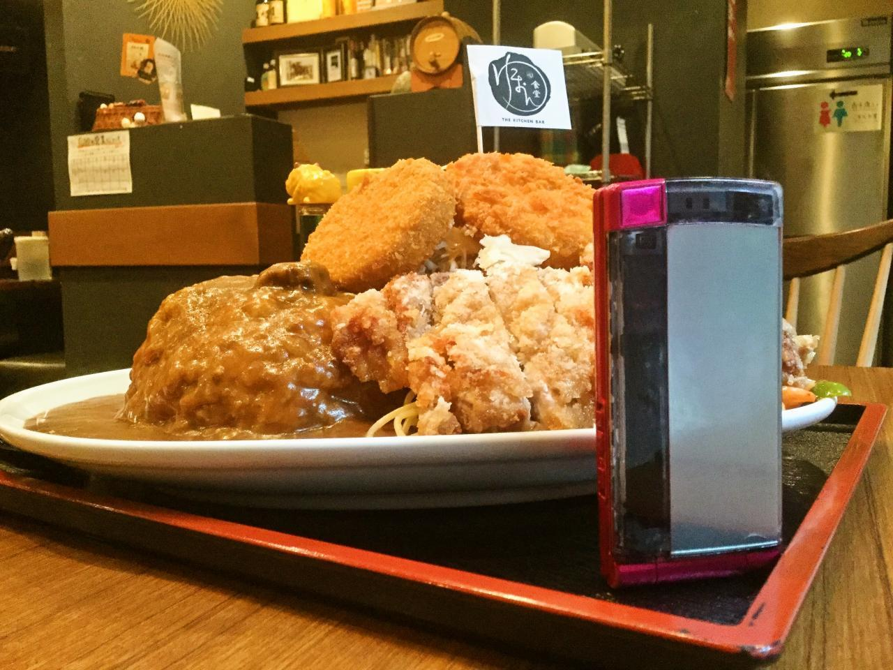 ゆにおん食堂(激盛りチャンピオン)