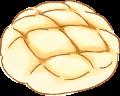 ブログ素材(メロンパン)