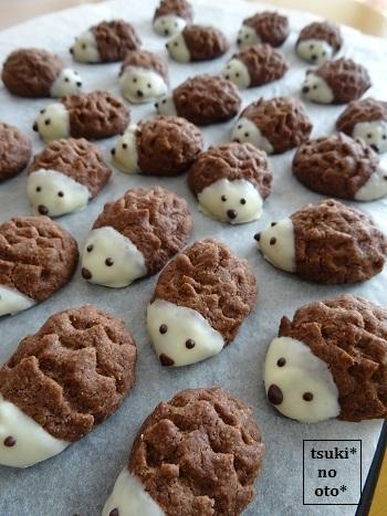 ハリネズミクッキー1