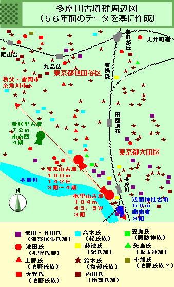 143話多摩川周辺図