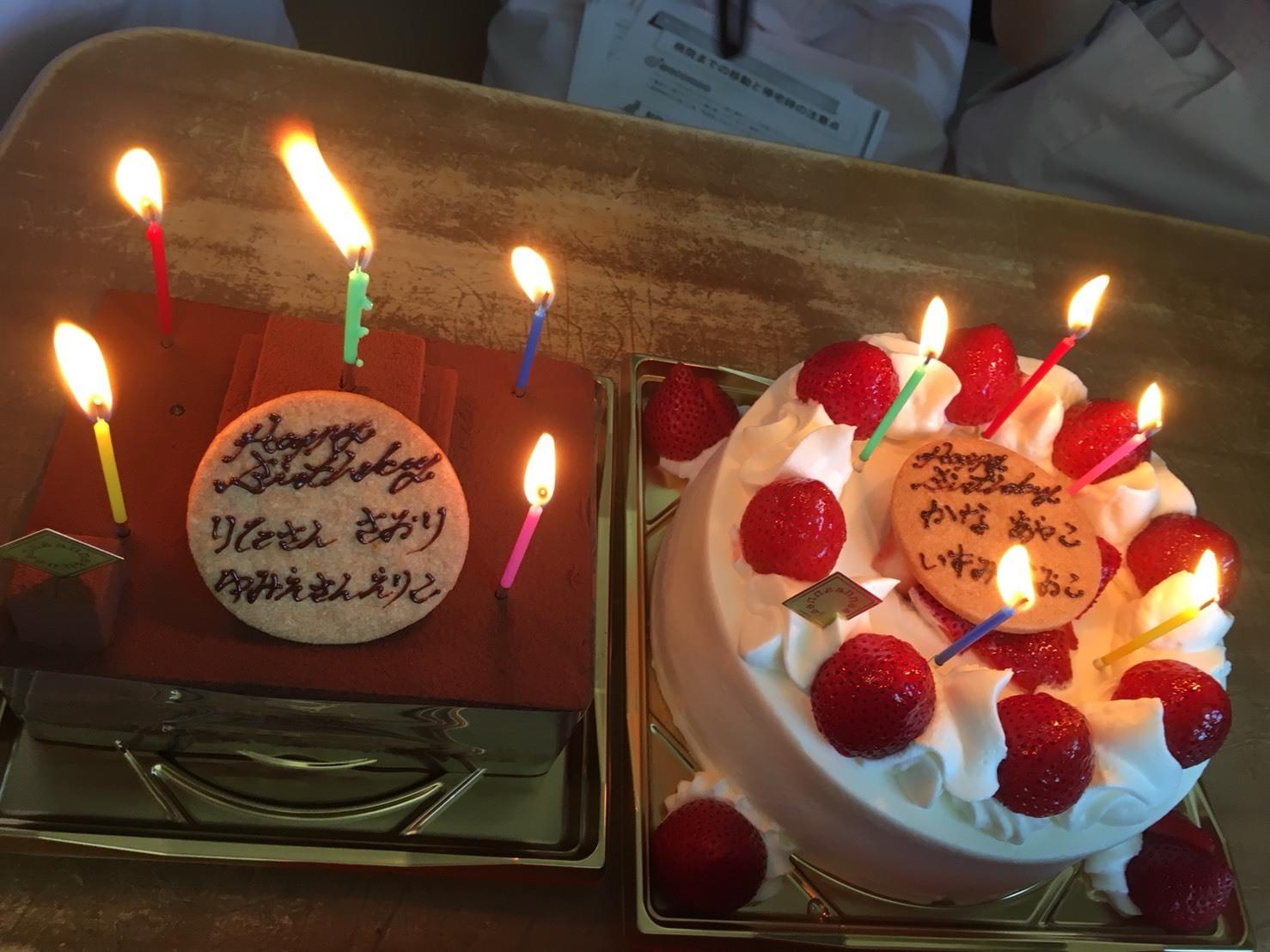 2018誕生会ケーキ