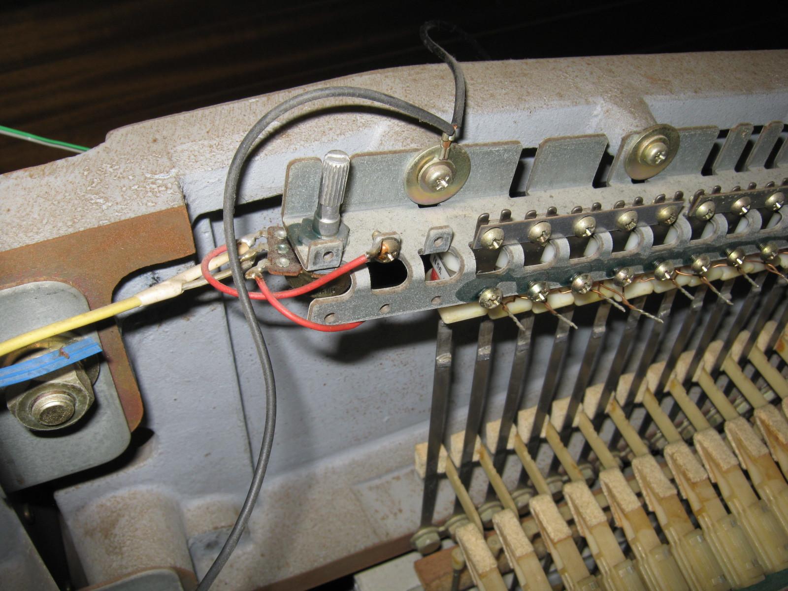 COLUMBIA電気ピアノ(抵抗不良)音源1