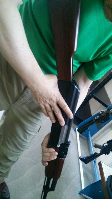AK47セーフティー解除