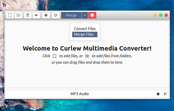 Curlew Media Converter 0.2.5 リリース