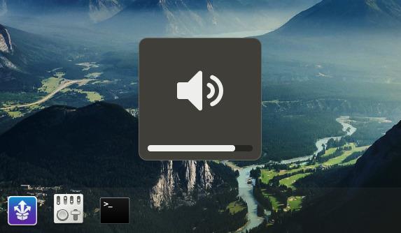 Volume Scroll GNOME拡張機能 ボリューム調整