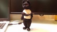 羊毛フェルト 黒猫