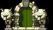 ドア(金箔寺)