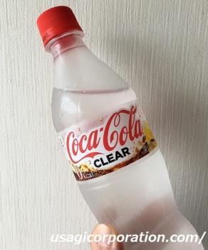 2018 0613 コカコーラ クリア