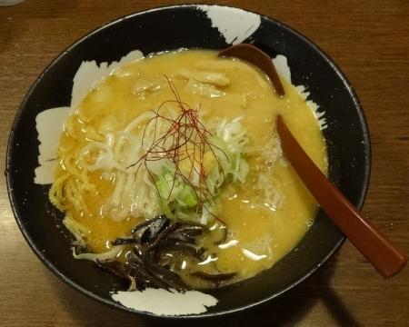 札幌白味噌ラーメン 680円