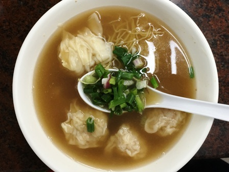 ワンタン麺②