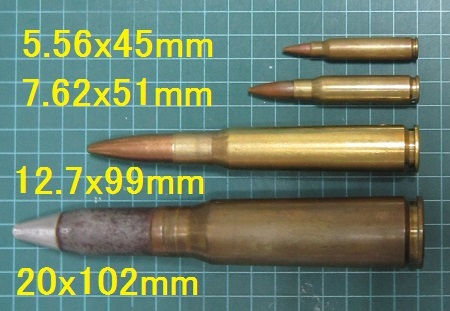 12.7mm ダミーカート - メンタル...