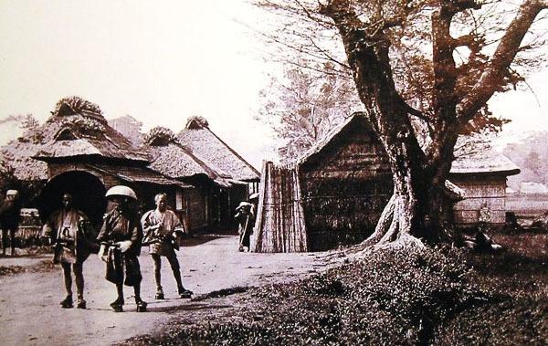 事件当時の生麦村
