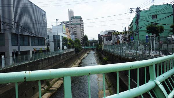 田島橋から見た清水川橋