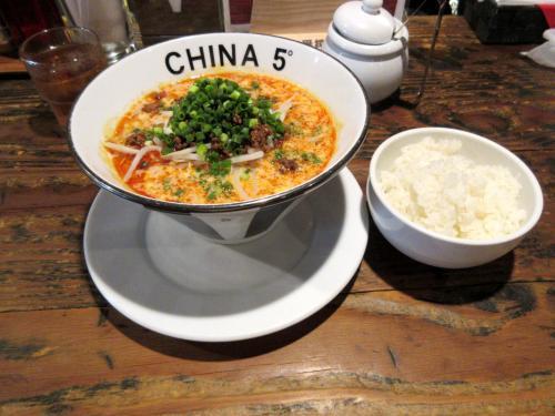 濃厚坦々麺