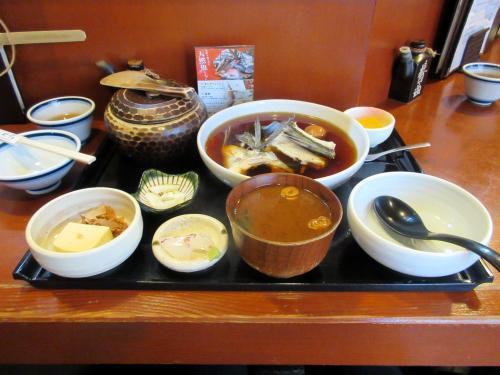 煮魚定食(鱸)
