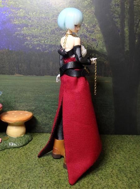 30_10_1 メガミデバイス用・ハロウィンの魔女ドレス 5