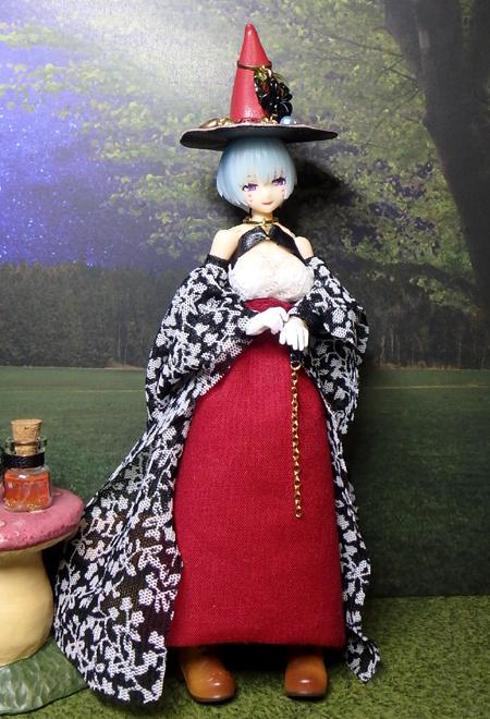 30_10_1 メガミデバイス用・ハロウィンの魔女ドレス 7