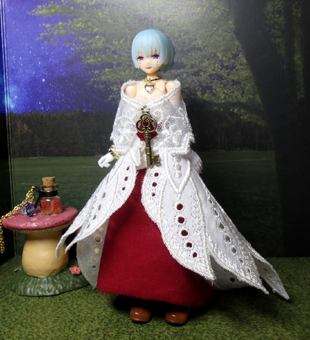 30_10_1 メガミデバイス用・ハロウィンの魔女ドレス 8