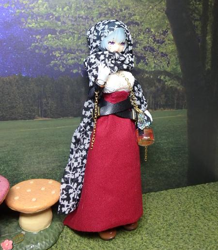 30_10_1 メガミデバイス用・ハロウィンの魔女ドレス 2