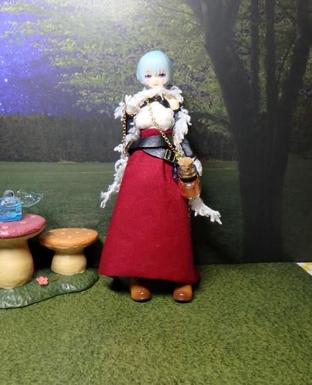 30_10_1 メガミデバイス用・ハロウィンの魔女ドレス 3